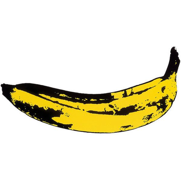 Velvet Underground Andy Warhol Foundation Settle Banana Album Dispute Liked On Polyvore Featuring Food Velvet Underground Andy Warhol Warhol