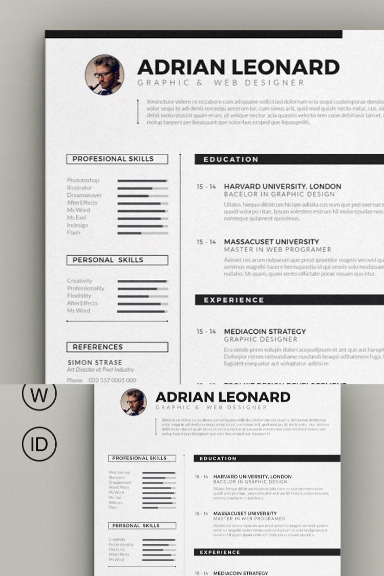 Resume Template in 2020 Resume template, Best resume