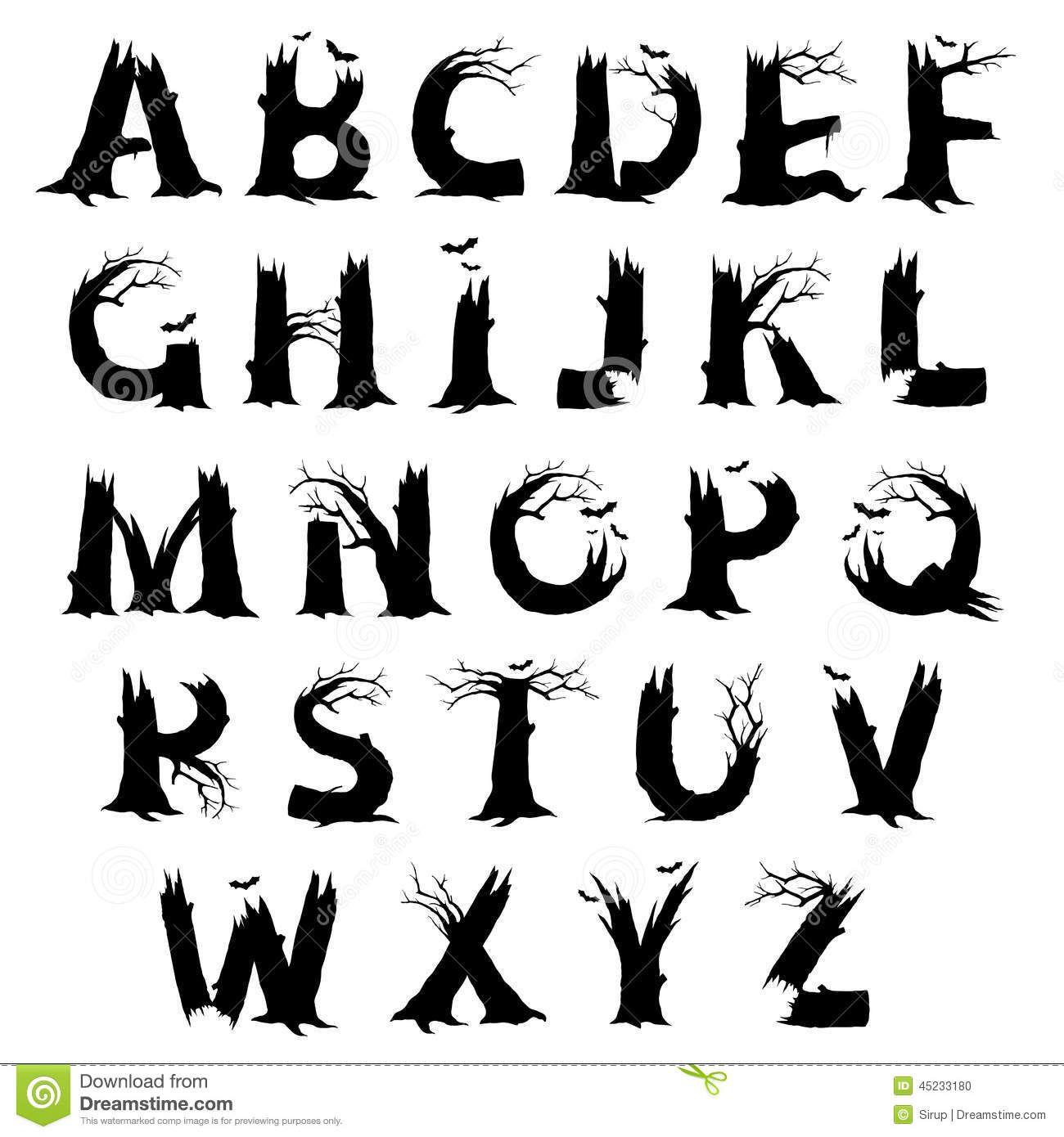 Alphabet Typographique, Lettrage Créatif