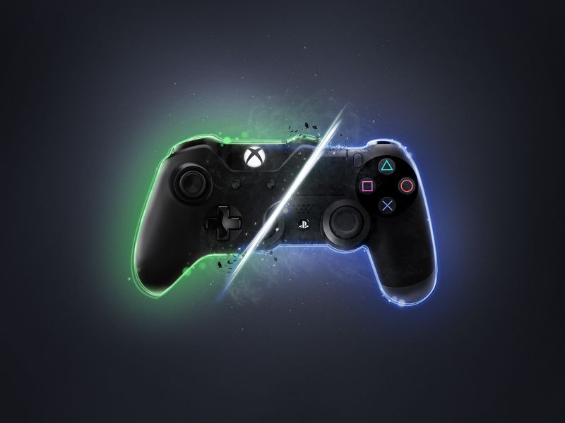 Xbox Vs Ps4 Xbox One Playstation Xbox Cool xbox backgrounds for computer
