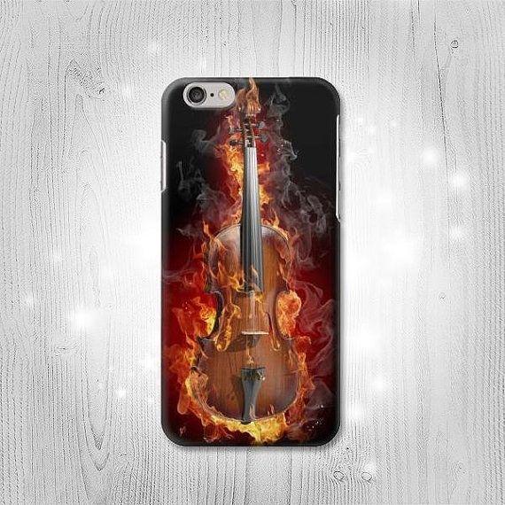 Fire Violin Hard Leather Flip Case Iphone 11 11 Pro Max Etsy Violin Hd Wallpaper Deadpool Hd Wallpaper
