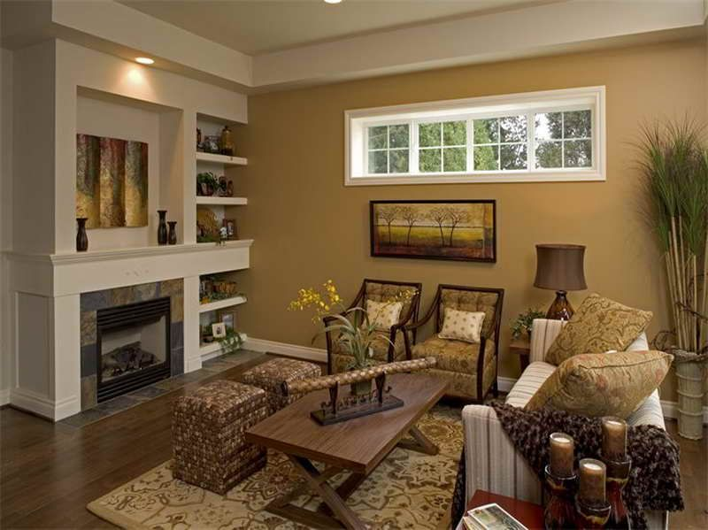Ideas Camel Paint Color For Interior With Living Room