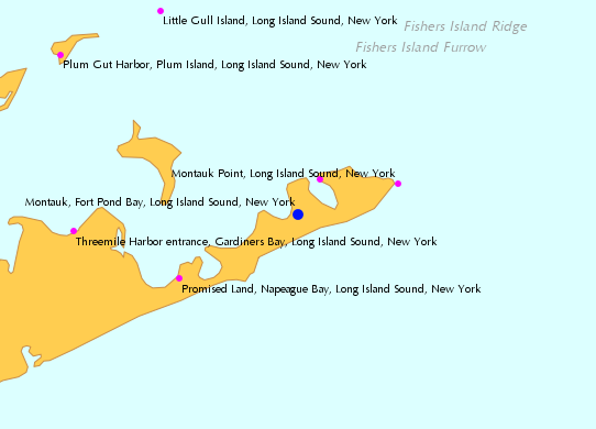 Montauk Fort Pond Bay Long Island Sound New York 2 Tide Chart