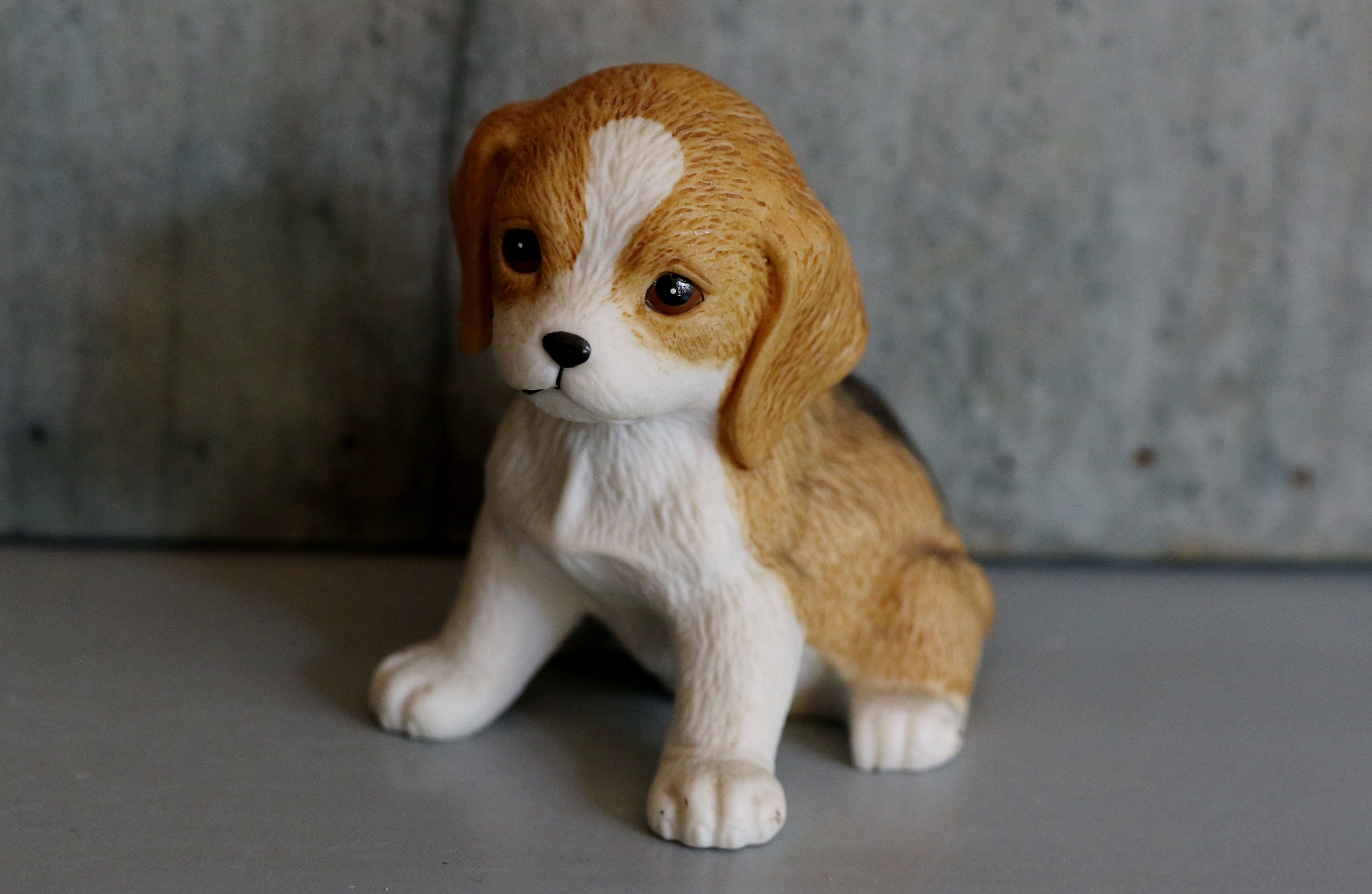 Vintage Beagle Puppy Dog Figurine By Homco Home Interiors 8828