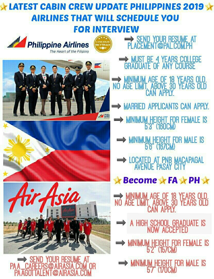 ONLINE APPLICATION FOR CABIN CREW/FLIGHT ATTENDANT IN THE