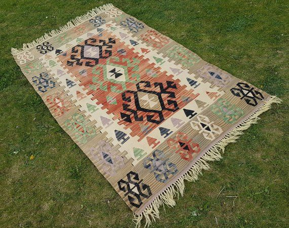 Area Rugs For Sale Geometric Hand Spun Wool Foundation Not