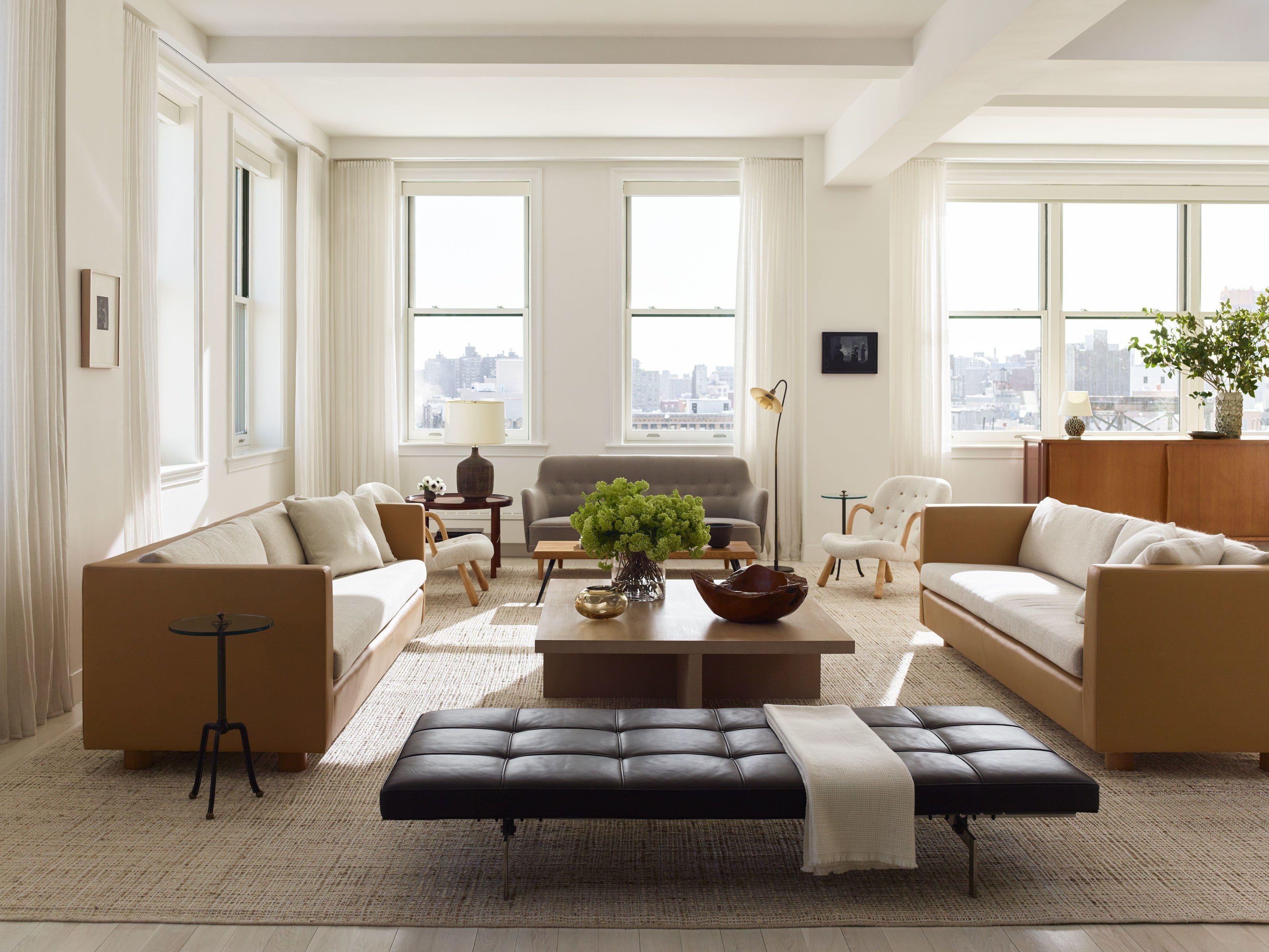 This Serene Manhattan Loft Has Unreal City Views | Manhattan, Lofts ...