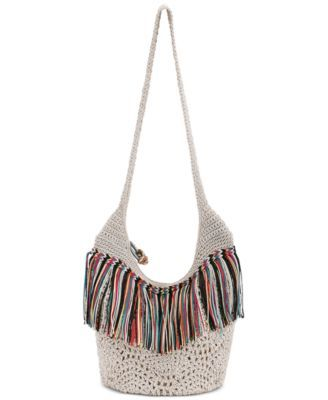 The Sak Heritage Crochet Bucket Bag | macys.com