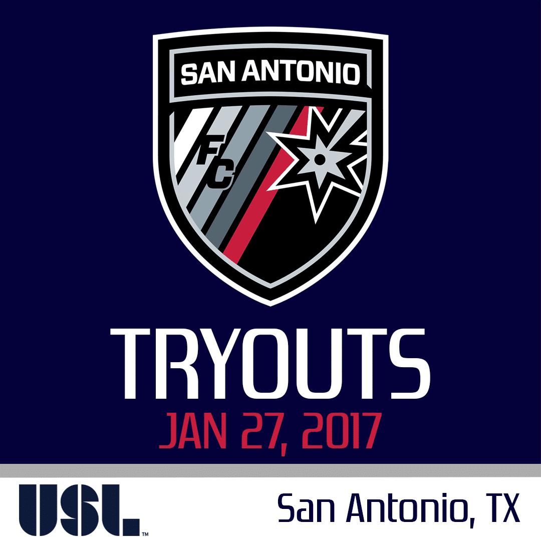 San Antonio Fc 2017 Open Tryouts Usl Tryouts Us