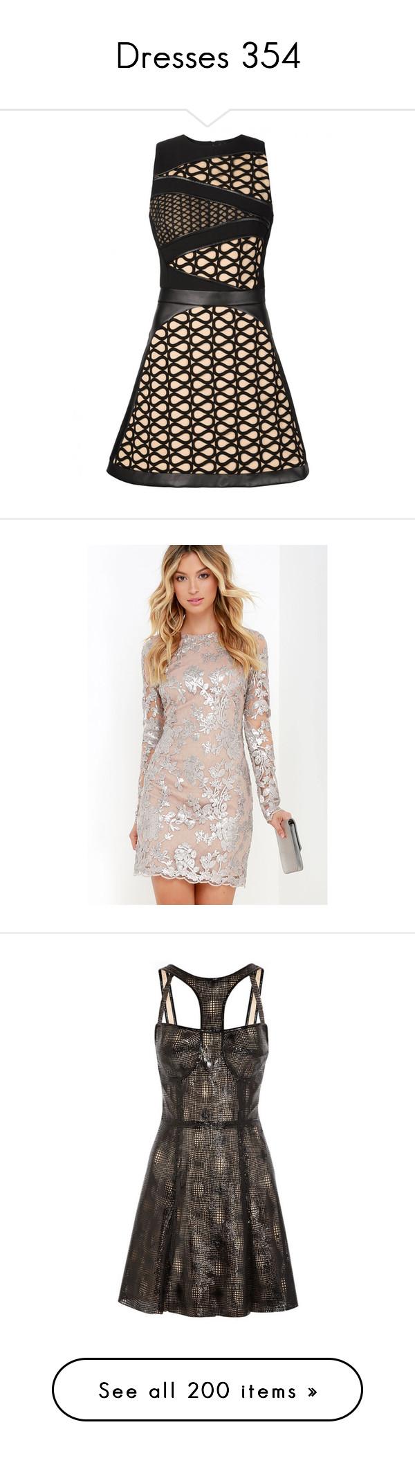 """Dresses 354"" by singlemom ❤ liked on Polyvore featuring dresses, david koma dress, black sleeveless dress, no sleeve dress, sleeveless dress, david koma, silver, white dress, sheer long sleeve dress and white sheer dress"