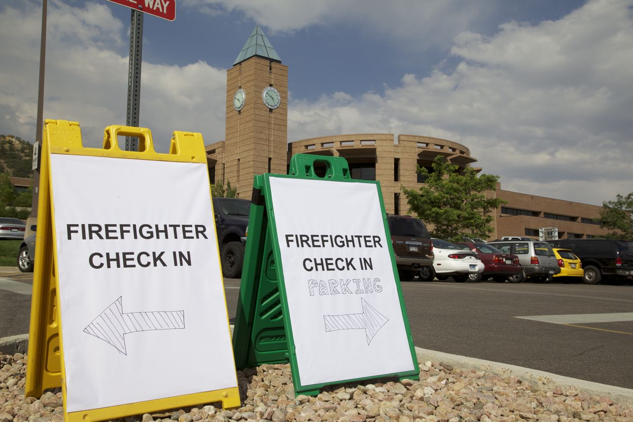 Colorado's Worst Fire Provides UCCS Opportunity to Shine