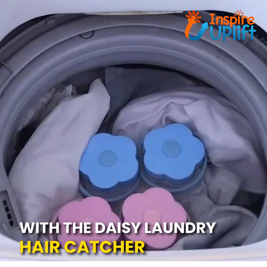 Daisy Laundry Hair Catcher Laundry Washing Clothes Household