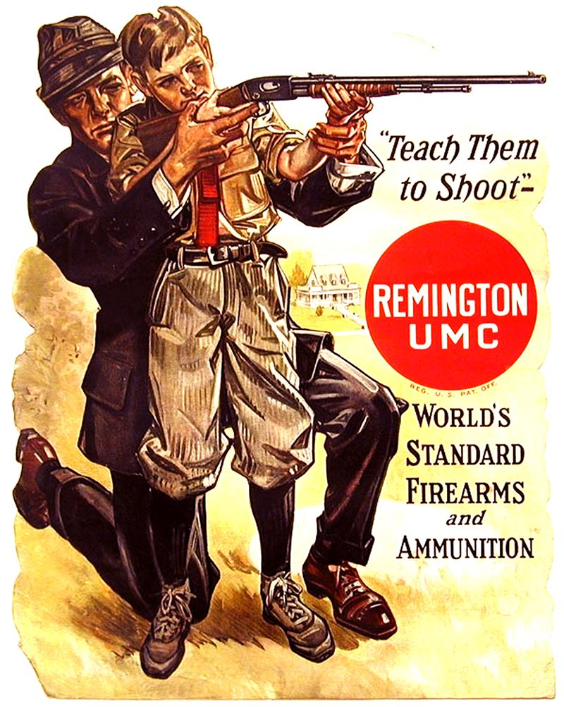 Father + Son Shooting | Remington Advertisement | Historic Ads from