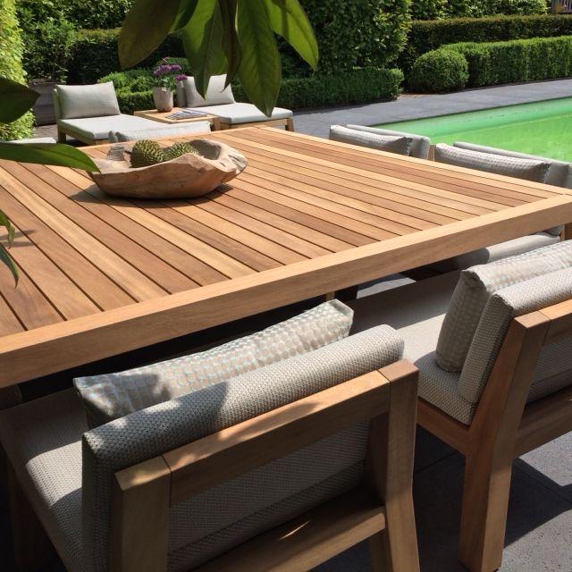 Tafel Anne Piet Boon.Piet Boon Anne Dining Table Square 230 X 230 Cm 8x Niek In Onze