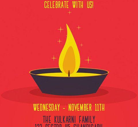 Celebrate with use diwali invitation free diwali invitation cards celebrate with use diwali invitation stopboris Gallery