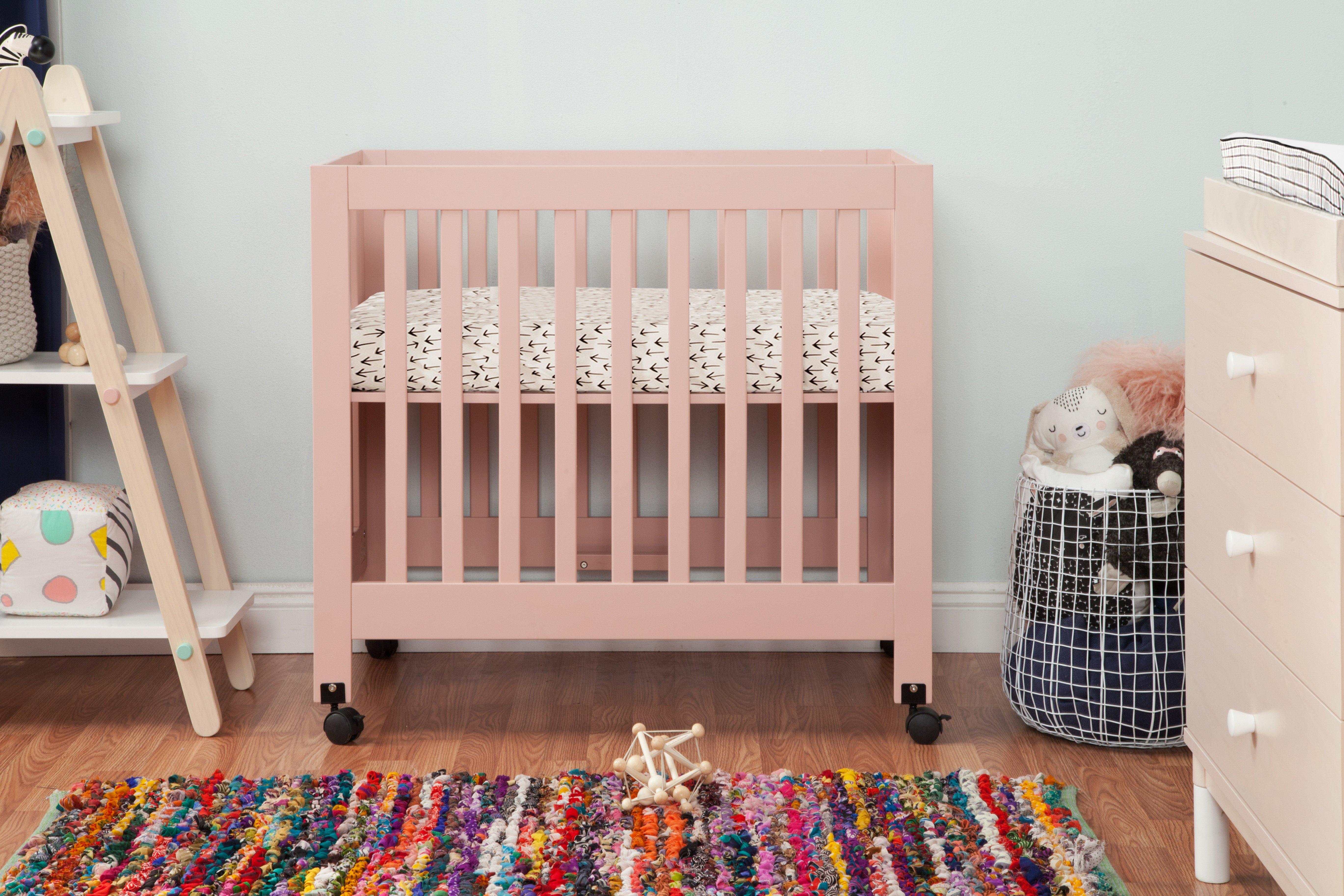 Origami Mini Crib Small Space Nursery Mini Crib Cribs