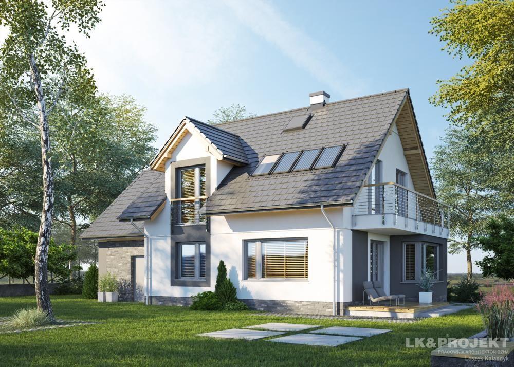Дизайны домов с мансардой в россии фото