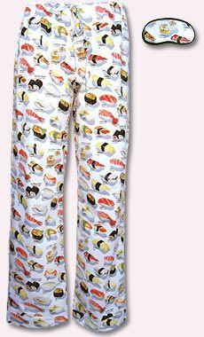 Sushi Cotton Pajama | Sew Cool! | Flannel robe, Pajamas, Flannel pajamas