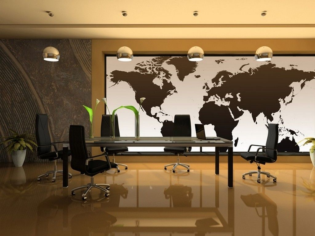National Geographic World Map Murals.National Geographic Executive World Map Wall Mural For Latest Office