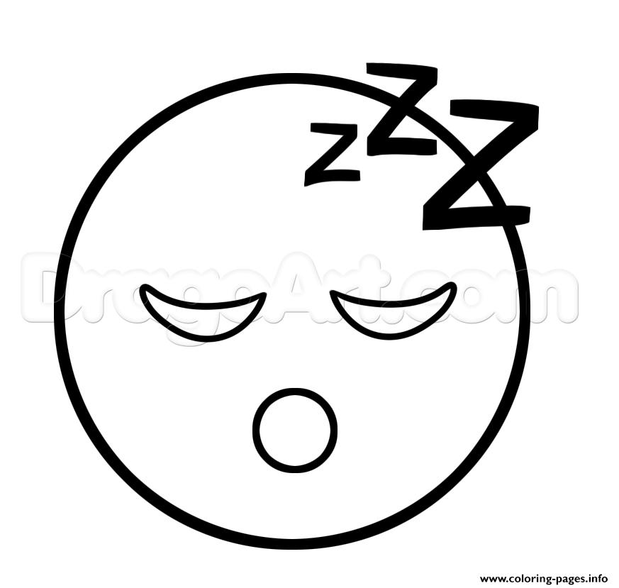 Print Emoji Sleep Sleepy Face Coloring Pages Emoji Coloring Pages Emoji Drawings Coloring Pages Inspirational