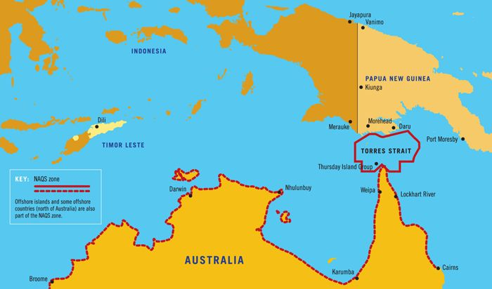 Where Are The Torres Strait Islands Located