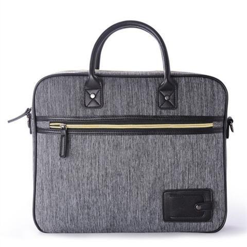 c7f3cf2a38ec Men's Designer Grey Canvas Briefcase/Laptop Bag | MENS BRIEFCASE ...