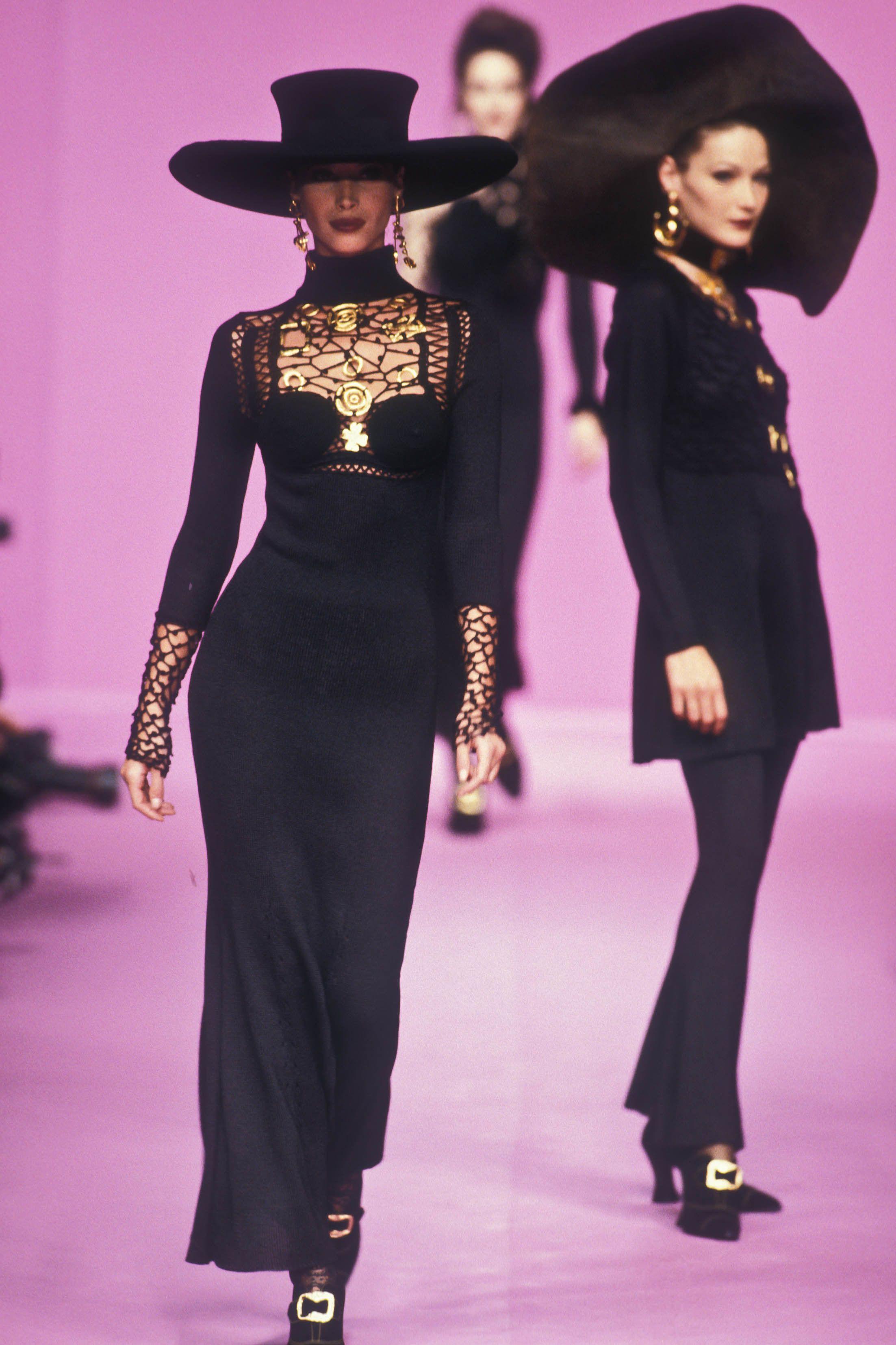 Christian Lacroix Rtw F W 1993 High Fashion Couture Christian Lacroix Fashion