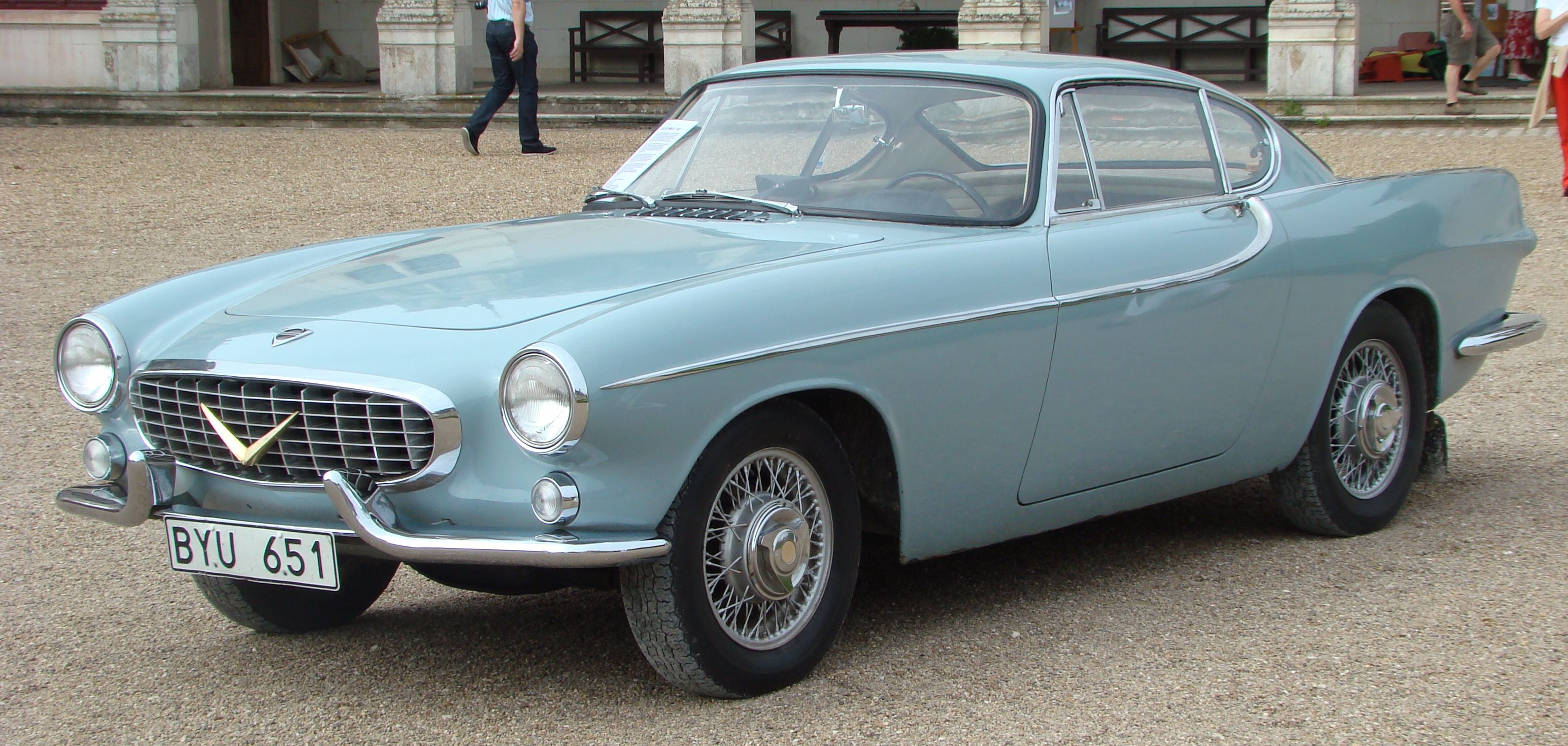 Volvo p 1800 sport the successor of the failed p 1900