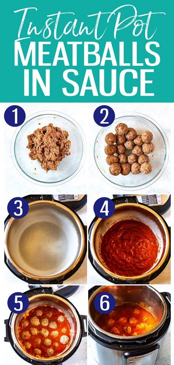 Internal Server Error The Best Instant Pot Meatballs are pressure cooked for just 3 minutes in toma