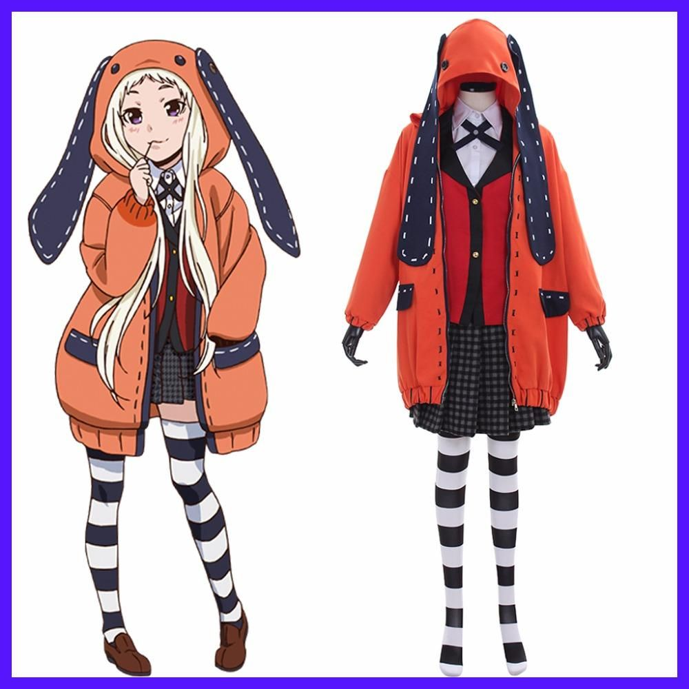 New Anime Kakegurui Compulsive Gambler Runa Yomozuki ...