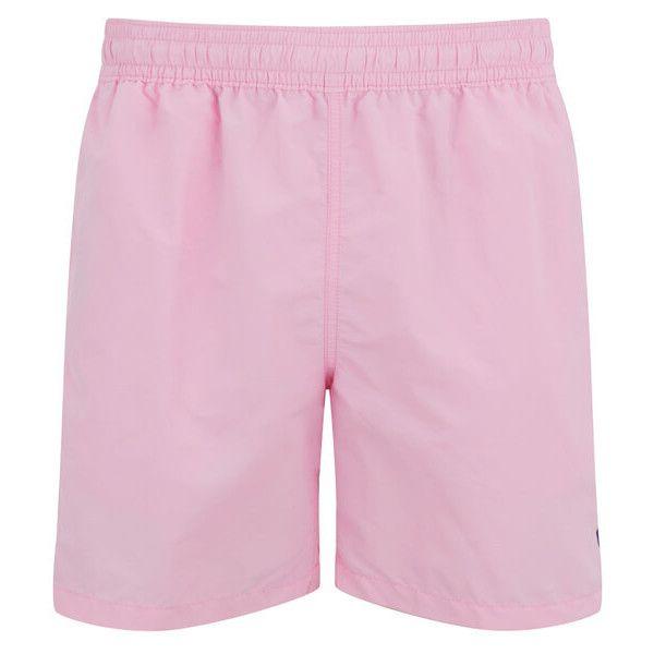 Polo Ralph Lauren Men\u0027s Hawaiian Swim Shorts - Carmel Pink (81 CHF) ? liked