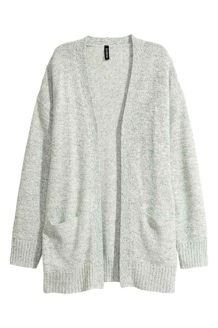 Knit Cardigan   Blazers and Shoulder