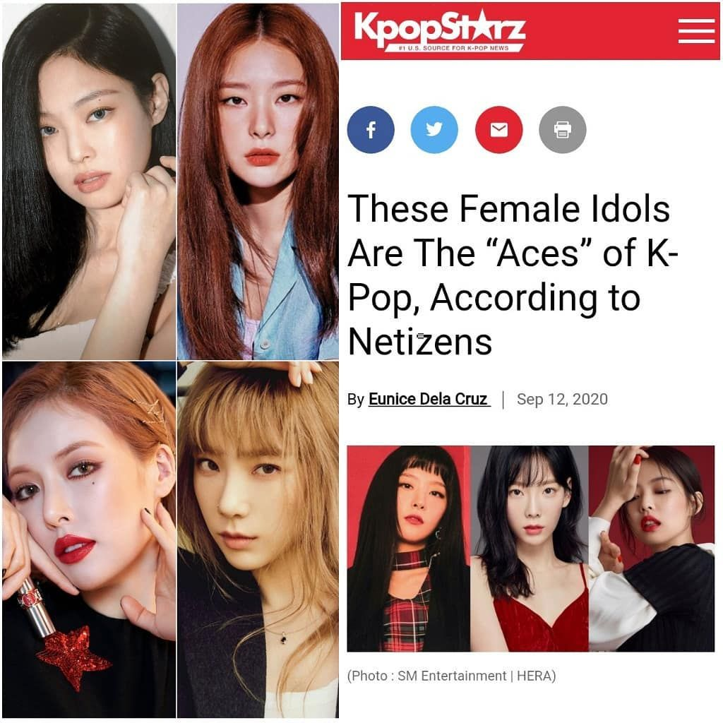 Queen Of Kpop Jennie Kim On Instagram These Female Idols Are The Aces Of K Pop According To Netizens 5 Blackpink Jennie In 2020 Kpop Blackpink Blackpink Jennie