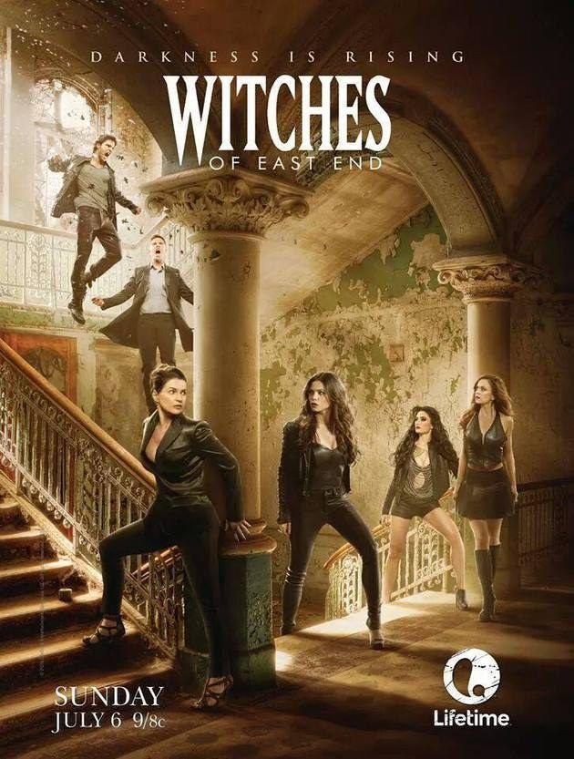 Novos Posteres Da 2ª Temporada De Witches Of East End Temporadas