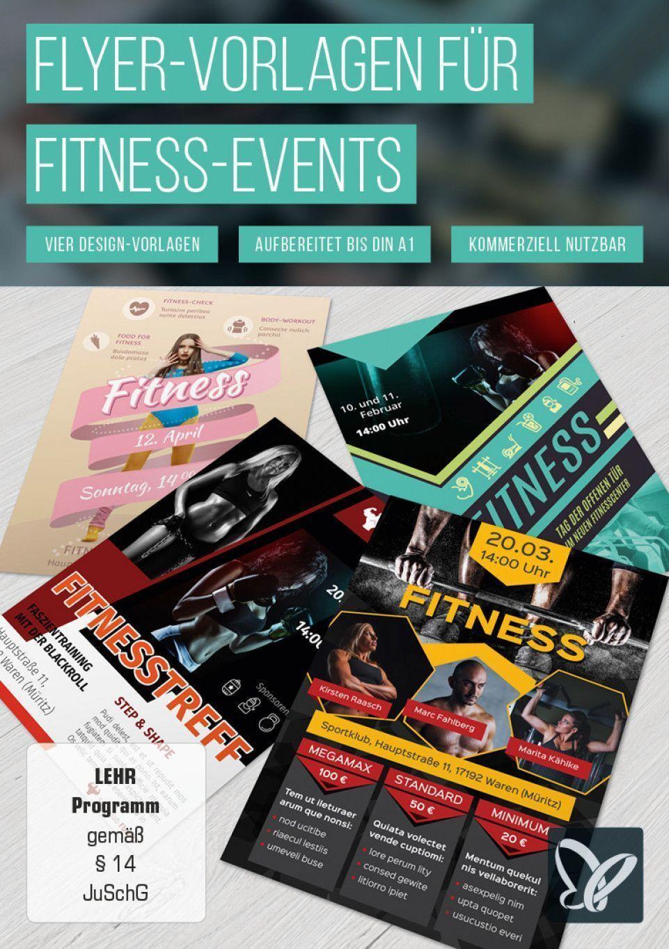 #Der #fitness #Fitnessstudios #FlyerVorlagen #für  #fitness #fitnessstudioprobetraining #fitnessstud...