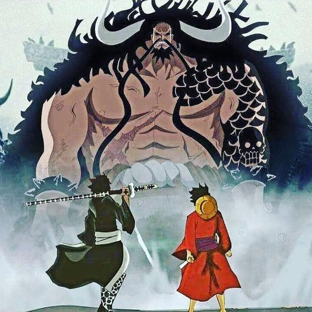 Kaido Of The Beasts Trafalgar D Water Law Monkey D Luffy