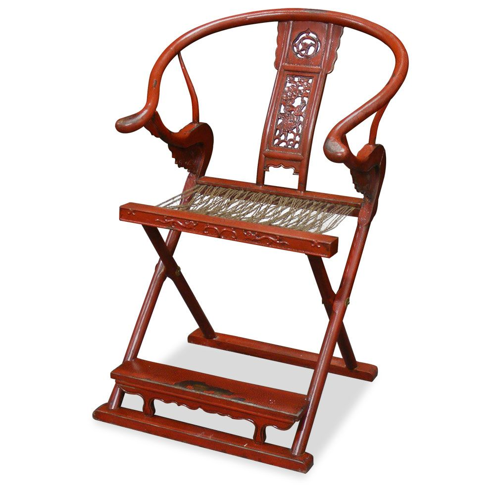 Antique Hunter's Chair