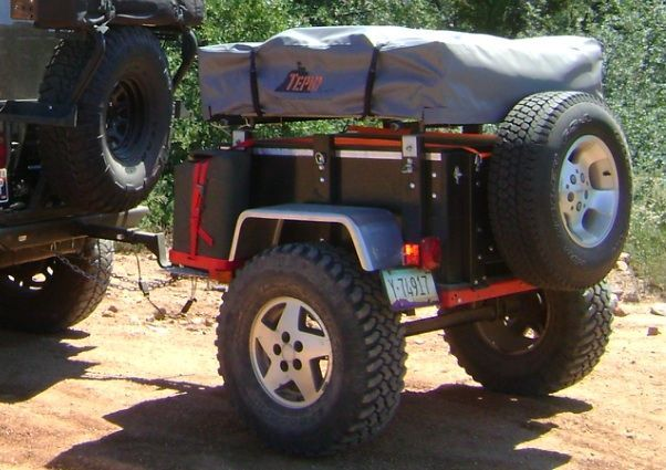 Are The 12 Tires On Your Harbor Freight Frame Too Small Camping Trailer Camping Trailer Diy Homemade Trailer