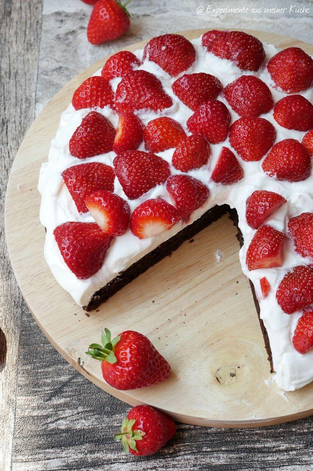 Leichte Erdbeer Brownies Experimente Aus Meiner Kuche Aus Brownies Erdbeer Erdbeerbrownies Experimente Kuche Leichte Meiner