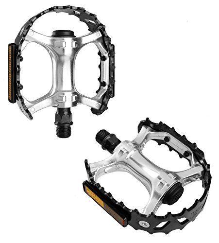 VP Alloy CNC Mountain BMX Bike Pedals Black