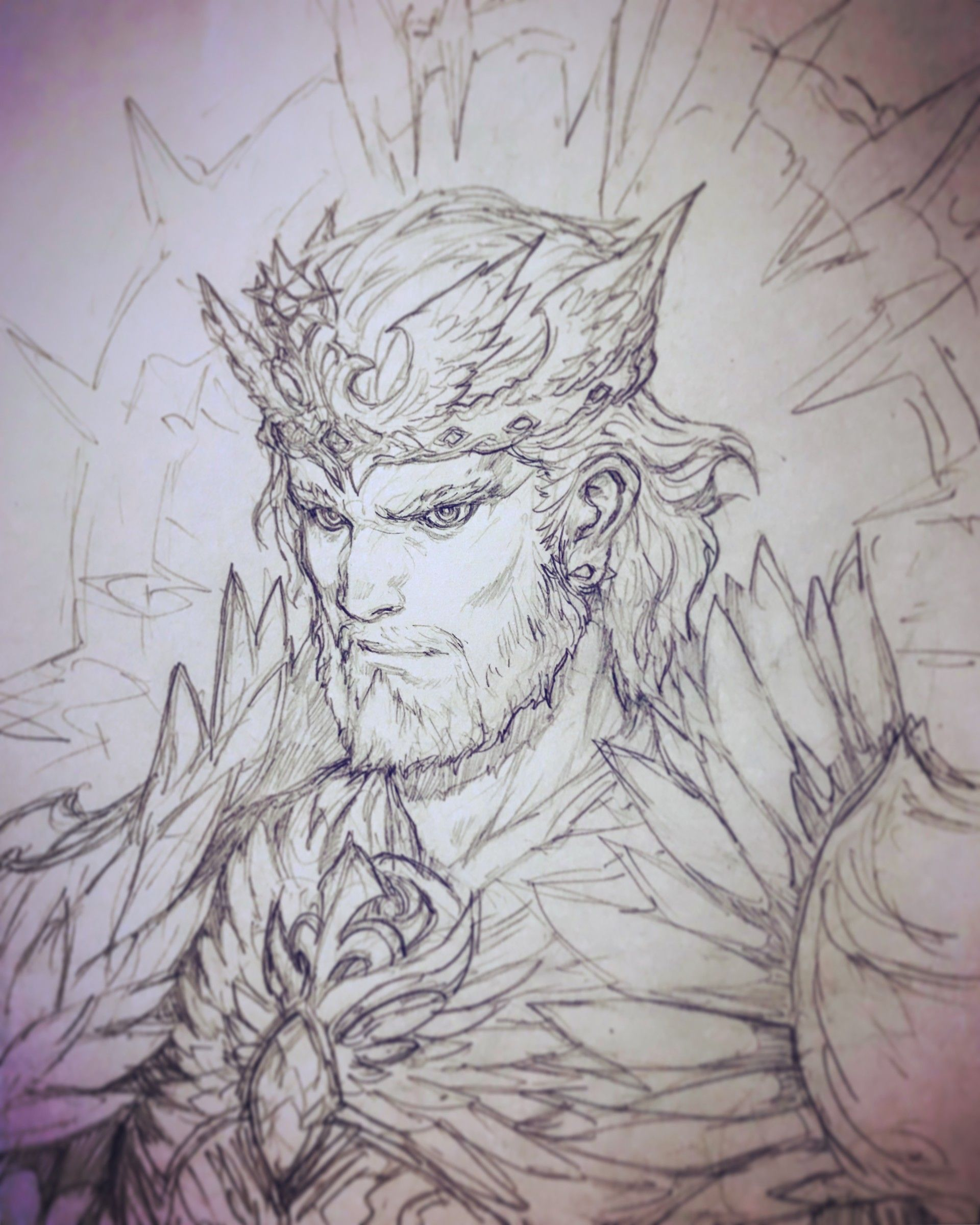 Artstation kings • king of the eagle eagle stato ozo