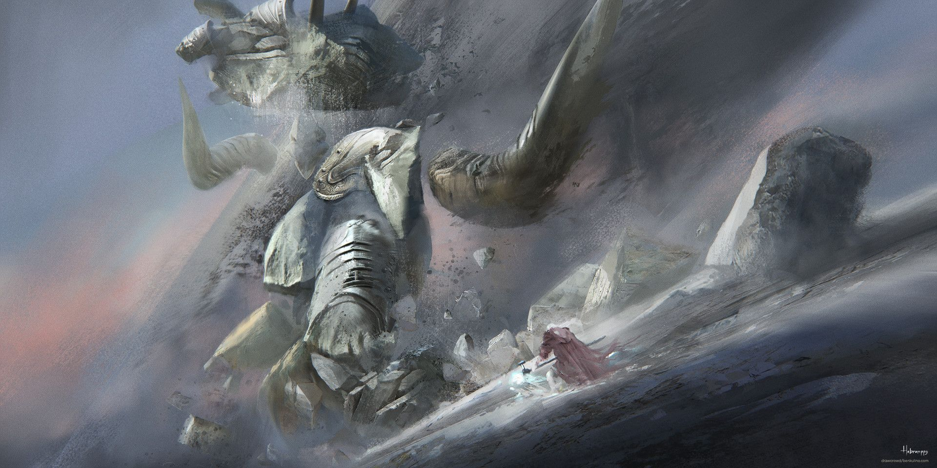 ArtStation - The Last Weapon (Goliath), Hebron PPG