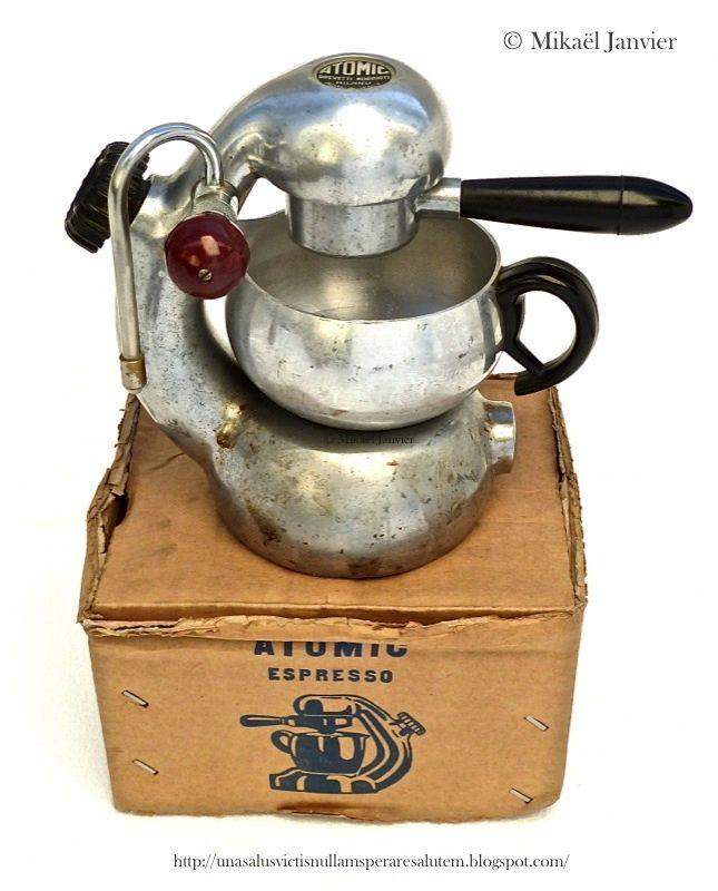 원자 에스프레소 상자에 stovetop 커피 메이커 - - 이들 디자이너로 다시 그들이 가치가 존중! : BREVETTI Robbiati을주는 시간이다 원자 상표