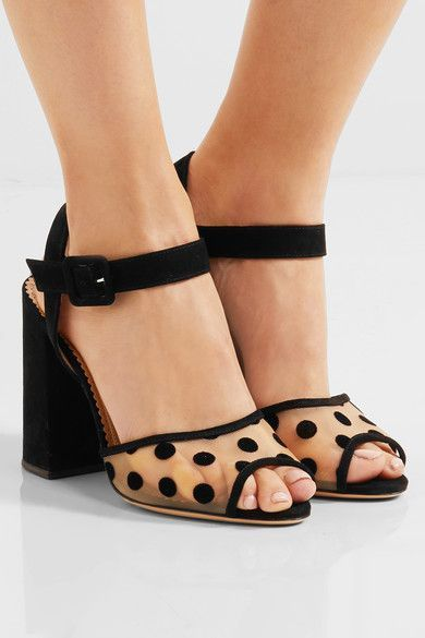 Charlotte Olympia Emma suede sandals vp5ghoU