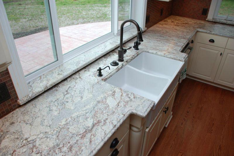 Exceptionnel Granite Kitchen Countertops Kowalski Center Bat. White Spring ...