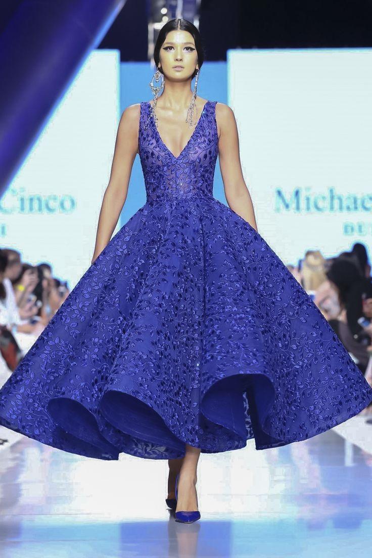 Arabic Style : Michael Cinco Fall Winter 2017 Arab Fashion Week Dubai