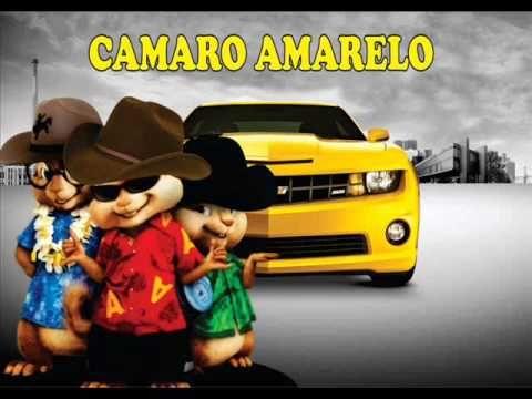 Alvin E Os Esquilos Cantando A Musica Camaro Amarelo De Munhoz E