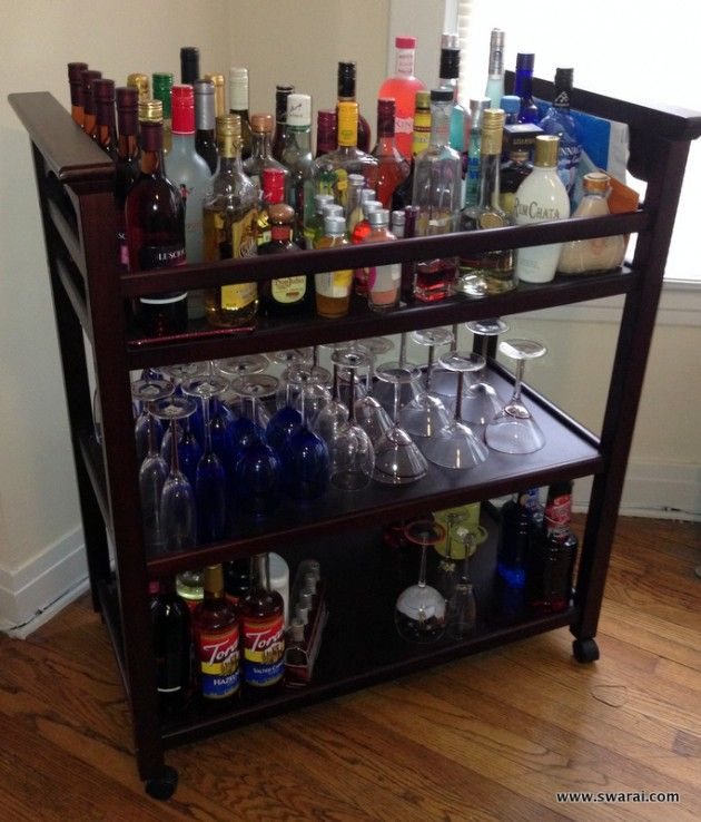 16 Great Diy Small Home Bar Ideas For The Next Party Crafts Bar