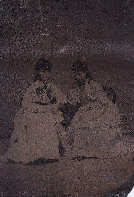 Victorian tintype.