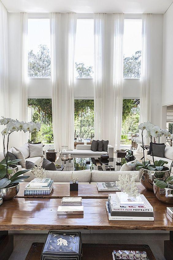 Hamptons Elegance Coastal Style House Interior Luxury Living Room Interior
